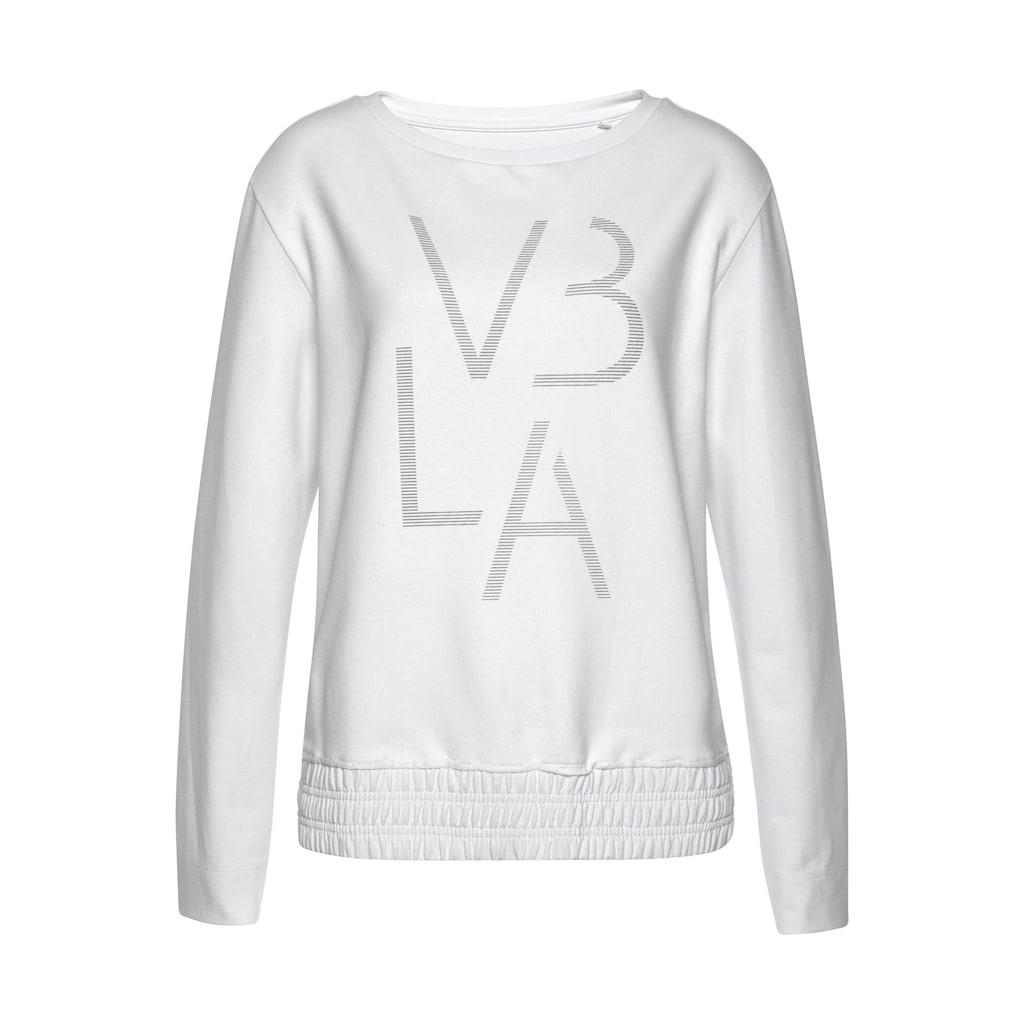 Venice Beach Sweatshirt, mit breitem Bündchen