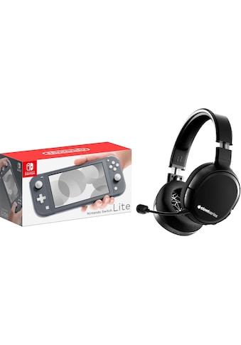 Nintendo Switch Konsolen-Set »Lite«, inkl. Steelseries Arctis 1 Wireless WiFi Headset... kaufen
