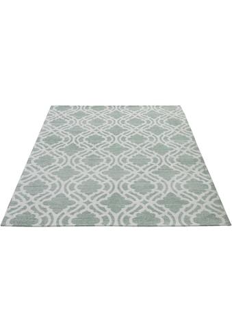 Sehrazat Teppich »Carina 6900«, rechteckig, 2 mm Höhe, Flachgewebe mit Baumwolle,... kaufen