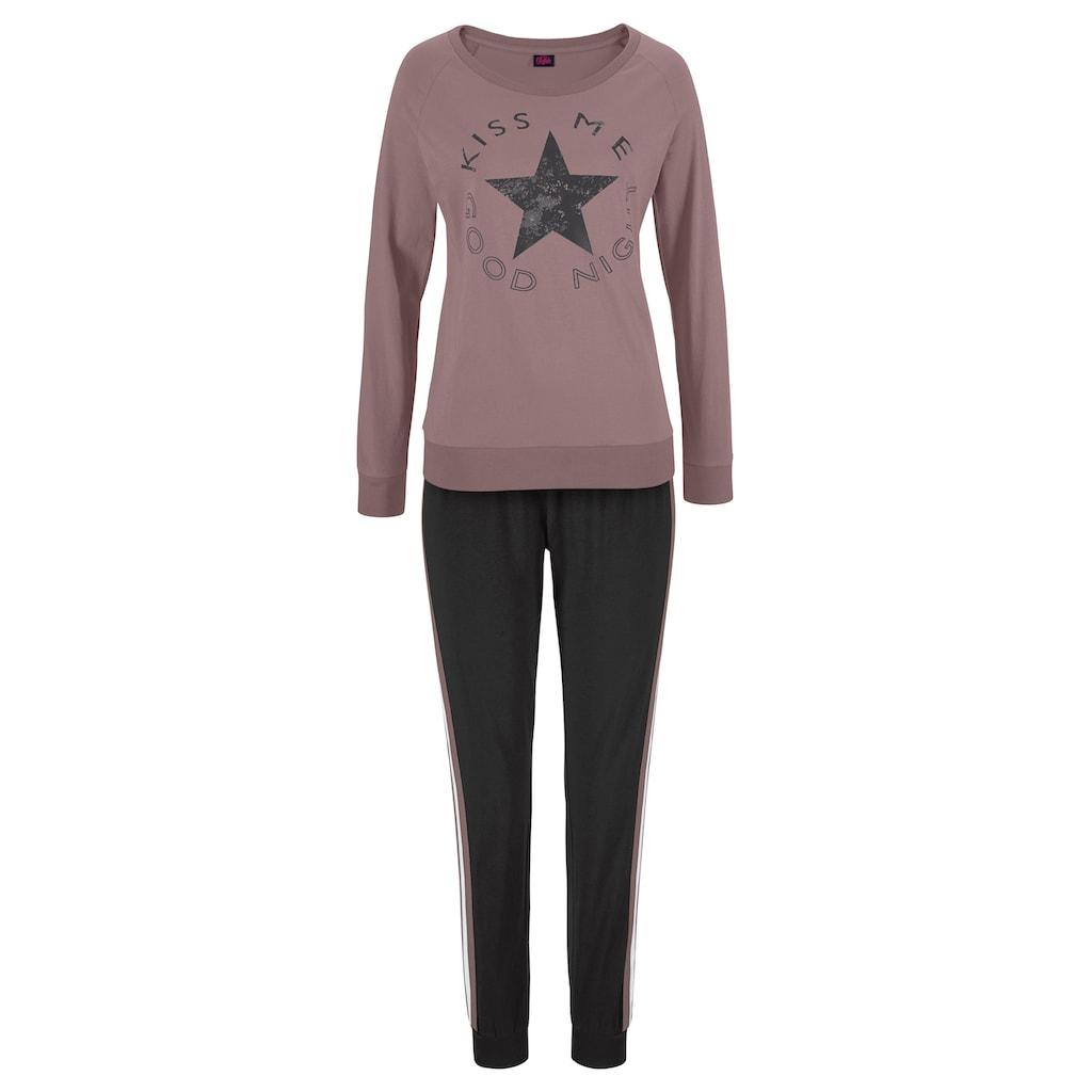 Buffalo Pyjama, mit Sternenprint