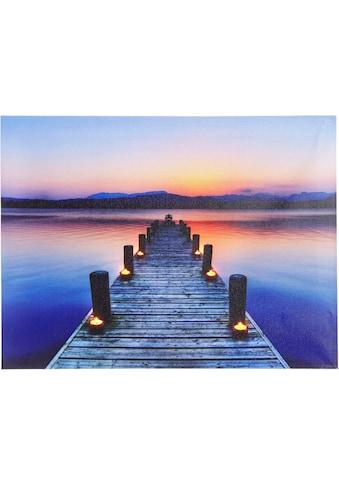 Home affaire LED - Bild »Steg« kaufen