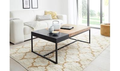 MCA furniture Couchtisch, Couchtisch Massivholz mit Tablett kaufen