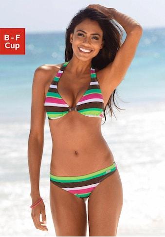 Buffalo Bügel-Bikini, mit farbenfrohen Streifen kaufen