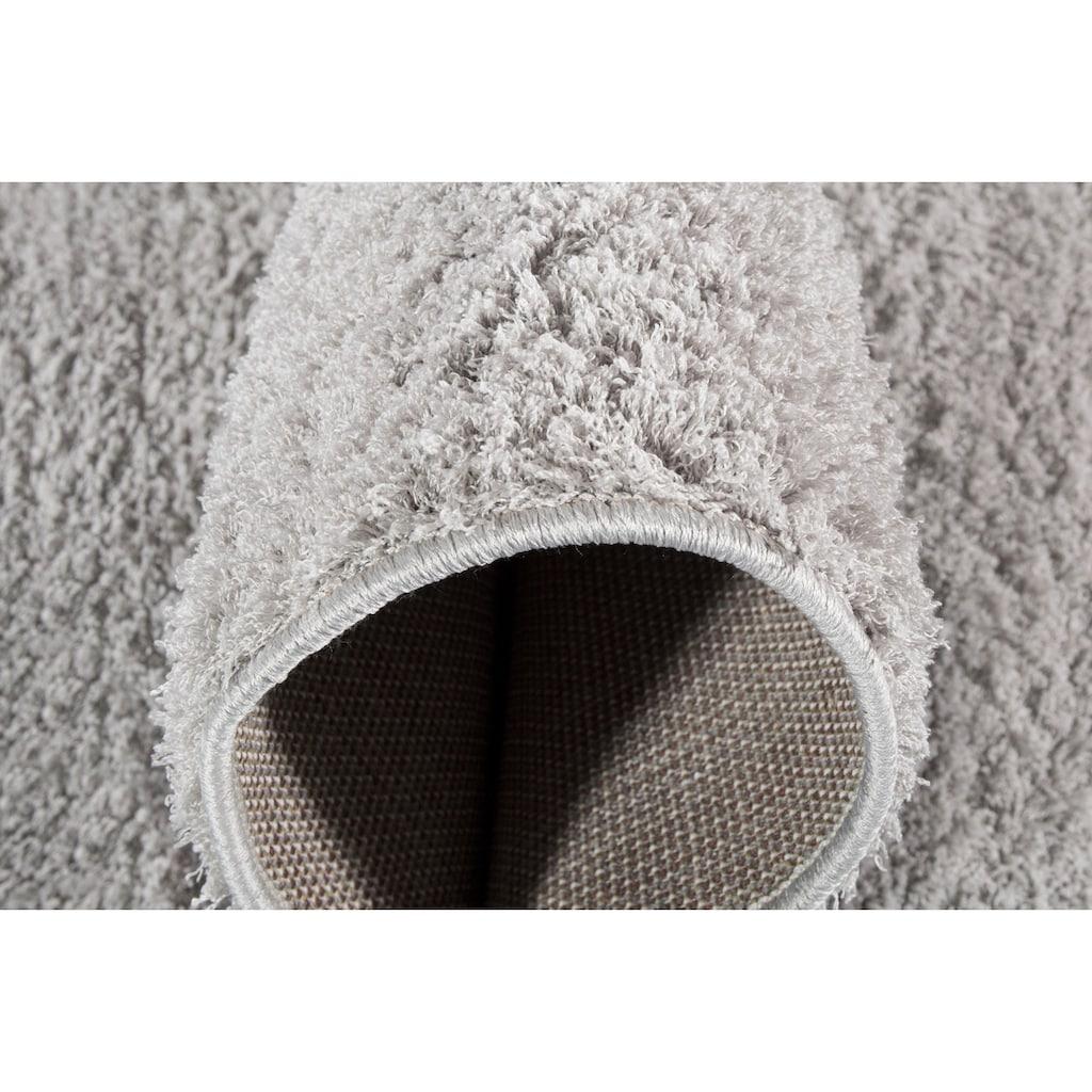 Andiamo Hochflor-Teppich »Cala Bona«, rechteckig, 26 mm Höhe, Besonders weich durch Microfaser, Wohnzimmer