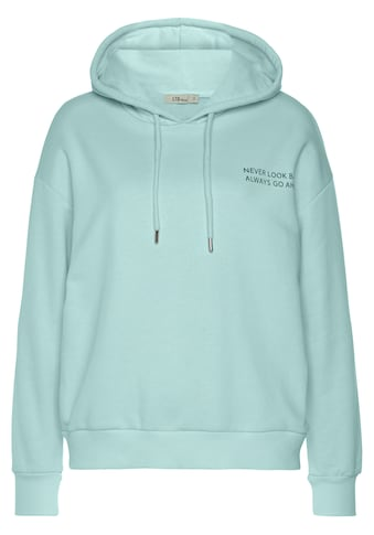 LTB Sweater »CISEKO«, mit Kapuze und Wording kaufen
