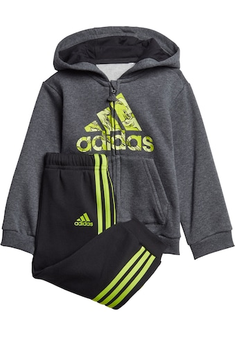 adidas Performance Jogginganzug »LOGO FULLZIP HOOD FLEECE« (Set, 2 tlg.) kaufen