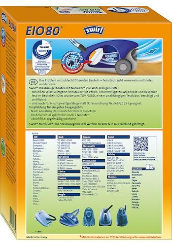 Swirl Staubsaugerbeutel »EIO 80 für EIO, Koenic und Quigg«, (Packung, 5 St.) kaufen
