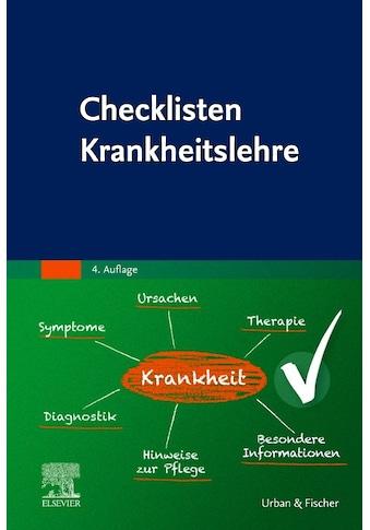Buch »Checklisten Krankheitslehre / Elsevier GmbH« kaufen