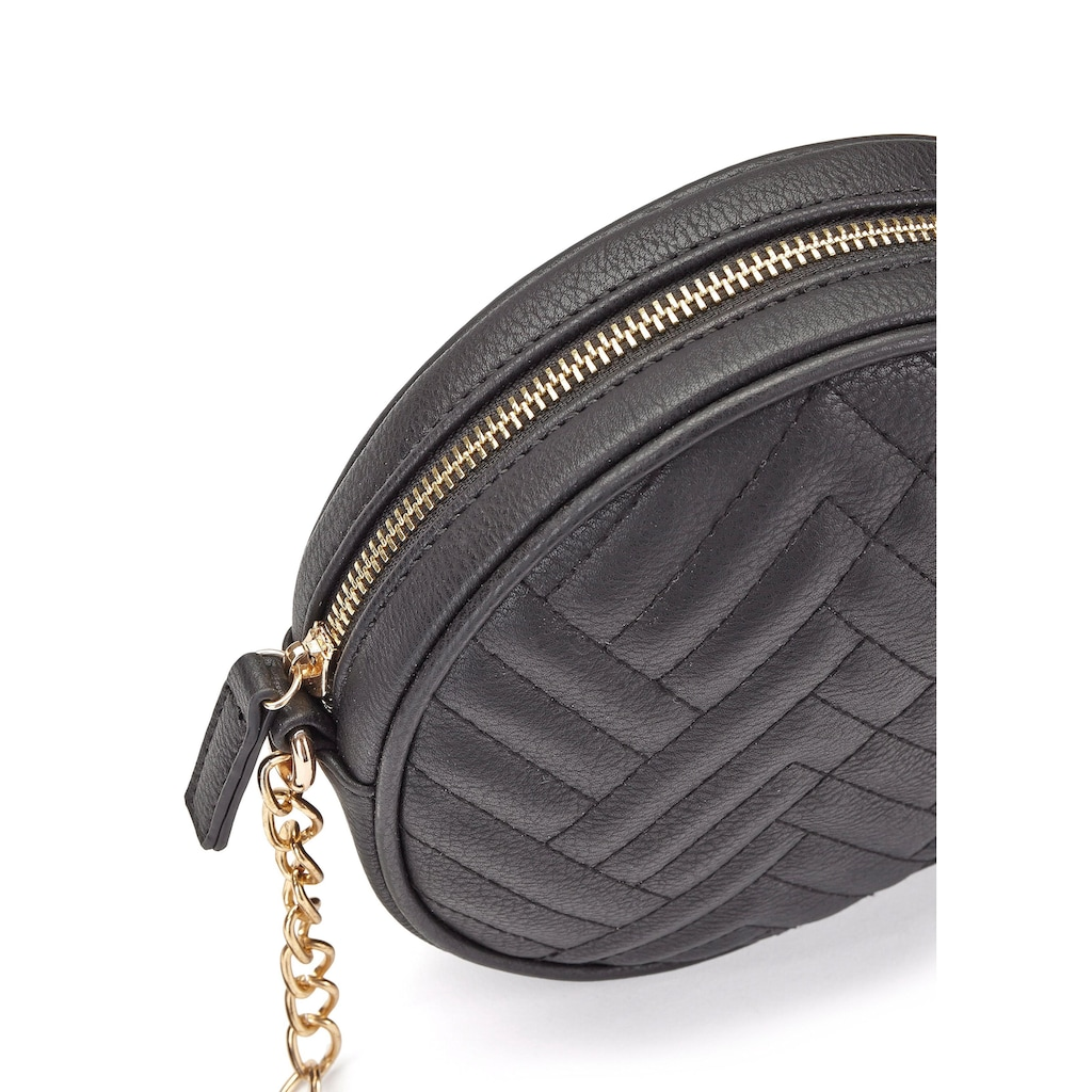 LASCANA Umhängetasche, kleine runde Minibag