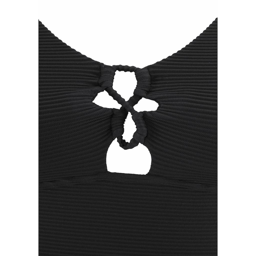 Sunseeker Badeanzug, mit eleganter Zierschnürung