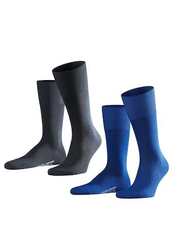 FALKE Socken »Airport 2-Pack«, (2 Paar), klimaregulierend durch Schurwolle kaufen