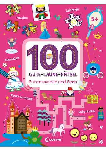 Buch »100 Gute-Laune-Rätsel - Prinzessinnen und Feen / Joshua Schulz« kaufen