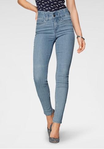 Arizona Slim-fit-Jeans »im Paperbag- Style«, High Waist kaufen