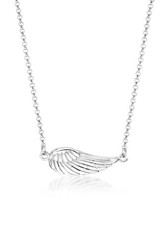 Nenalina Collierkettchen »Flügel Anhänger Schutzengel Talisman 925 Silber« kaufen