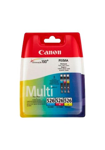 Canon Tintenpatrone »CLI-526 C/M/Y original Kombi-Pack« kaufen