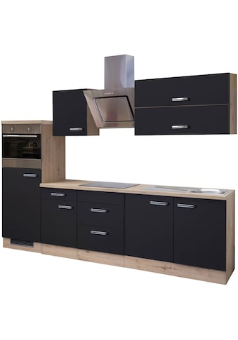 Flex-Well Küchenzeile »Antigua«, mit E-Geräten, Gesamtbreite 270 cm kaufen