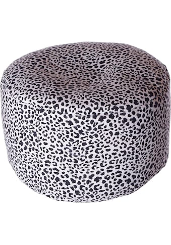 Home affaire Pouf »Gepard«, 47/34 cm kaufen