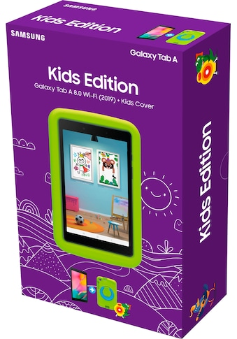 Samsung »Galaxy Tab A 8.0 Wi - Fi (2019) + Kids Cover« Tablet (8'', 32 GB, Android) kaufen