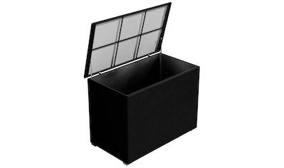 BAIDANI Auflagenbox »XXL«, 147x87x104 cm (B/T/H), Aluminium/Polyrattan kaufen