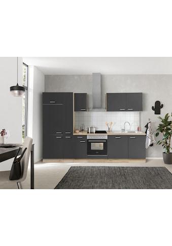 OPTIFIT Küchenzeile »Iver«, 300 cm breit, inklusive Elektrogeräte der Marke HANSEATIC,... kaufen