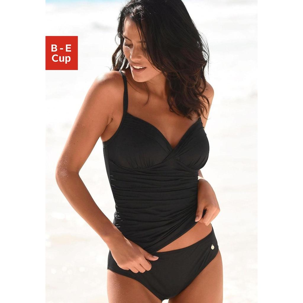 LASCANA Tankini, mit Raffung