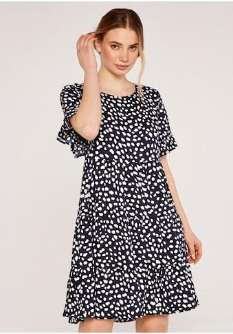 Apricot Druckkleid »Splash Dots Tier Dress«, mit Punkten kaufen