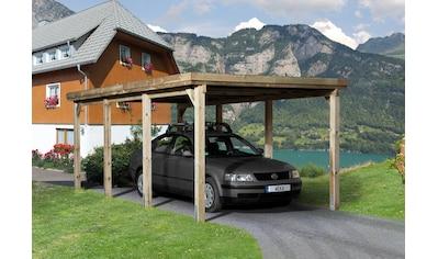 weka Einzelcarport »Optima 2«, Holz, 270 cm, braun kaufen