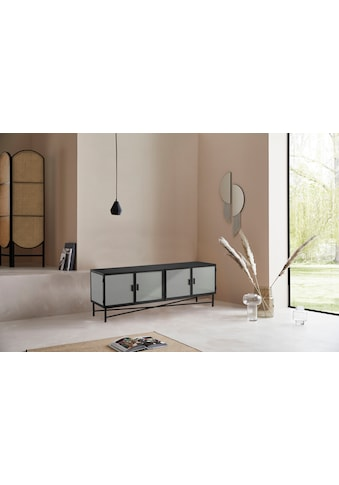 LeGer Home by Lena Gercke Lowboard »Almira«, Türen mit Riffelglas, Zeitloses Design,... kaufen