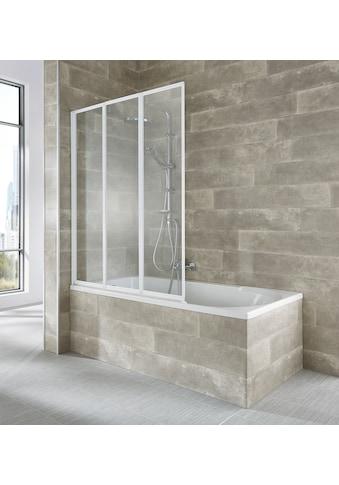 welltime Badewannenaufsatz »Nassau«, weiß kaufen