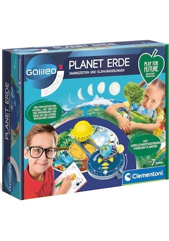 Clementoni® Experimentierkasten »Galileo - Planet Erde«, Made in Europe kaufen