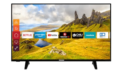 Telefunken Fernseher (58 Zoll, 4K UHD, Smart TV, HDR) »XU58J521« kaufen