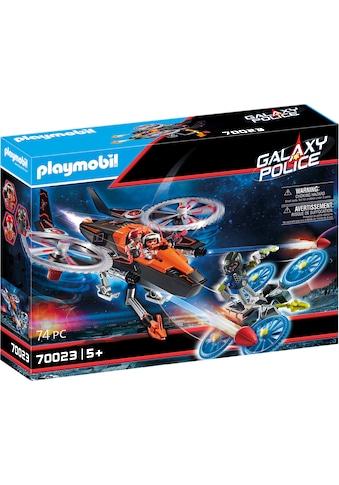 Playmobil® Konstruktions-Spielset »Galaxy Pirates-Heli (70023), Galaxy Police«, Made... kaufen