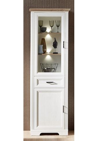 Innostyle Stauraumvitrine »Jasmin«, inklusive Beleuchtung, Türen links/rechts verwendbar kaufen