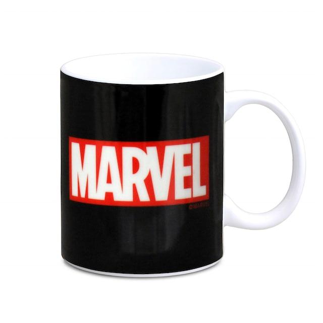 LOGOSHIRT Kaffeebecher mit coolem Print »Marvel«