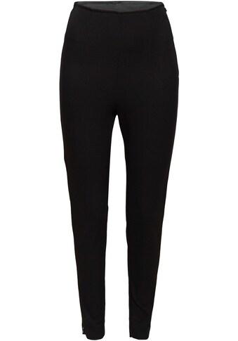 Esprit Collection Stretch-Hose, mit Zippern am Saum kaufen
