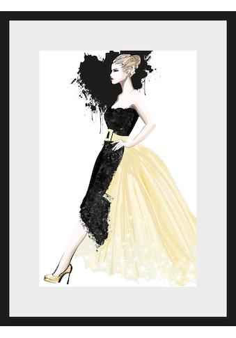 Leonique Bild »Skizze Dress« kaufen
