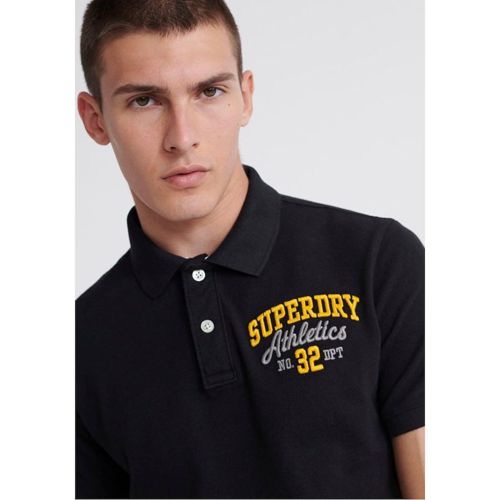 Superdry Poloshirt »CLASSIC SUPERSTATE S/S POLO«, mit aufwändigen Details