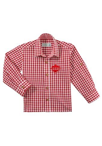 Andreas Gabalier Kollektion Trachtenhemd, Kinder mit Mountainman Stickerei kaufen