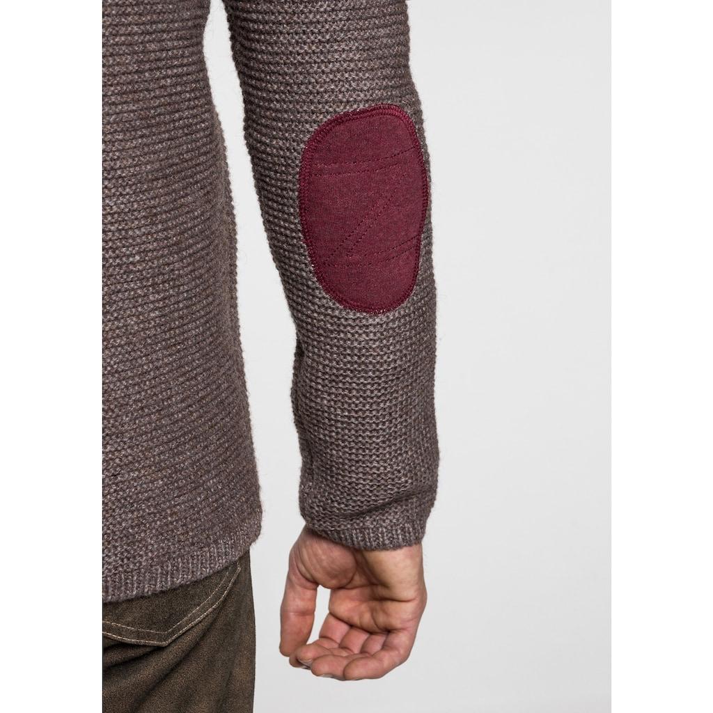 Spieth & Wensky Strickjacke Dakar 70 cm mit Sweater-Kapuze