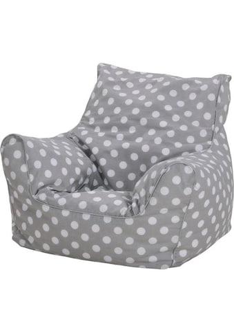 Knorrtoys® Sitzsack »Dots, grey«, für Kinder; Made in Europe kaufen