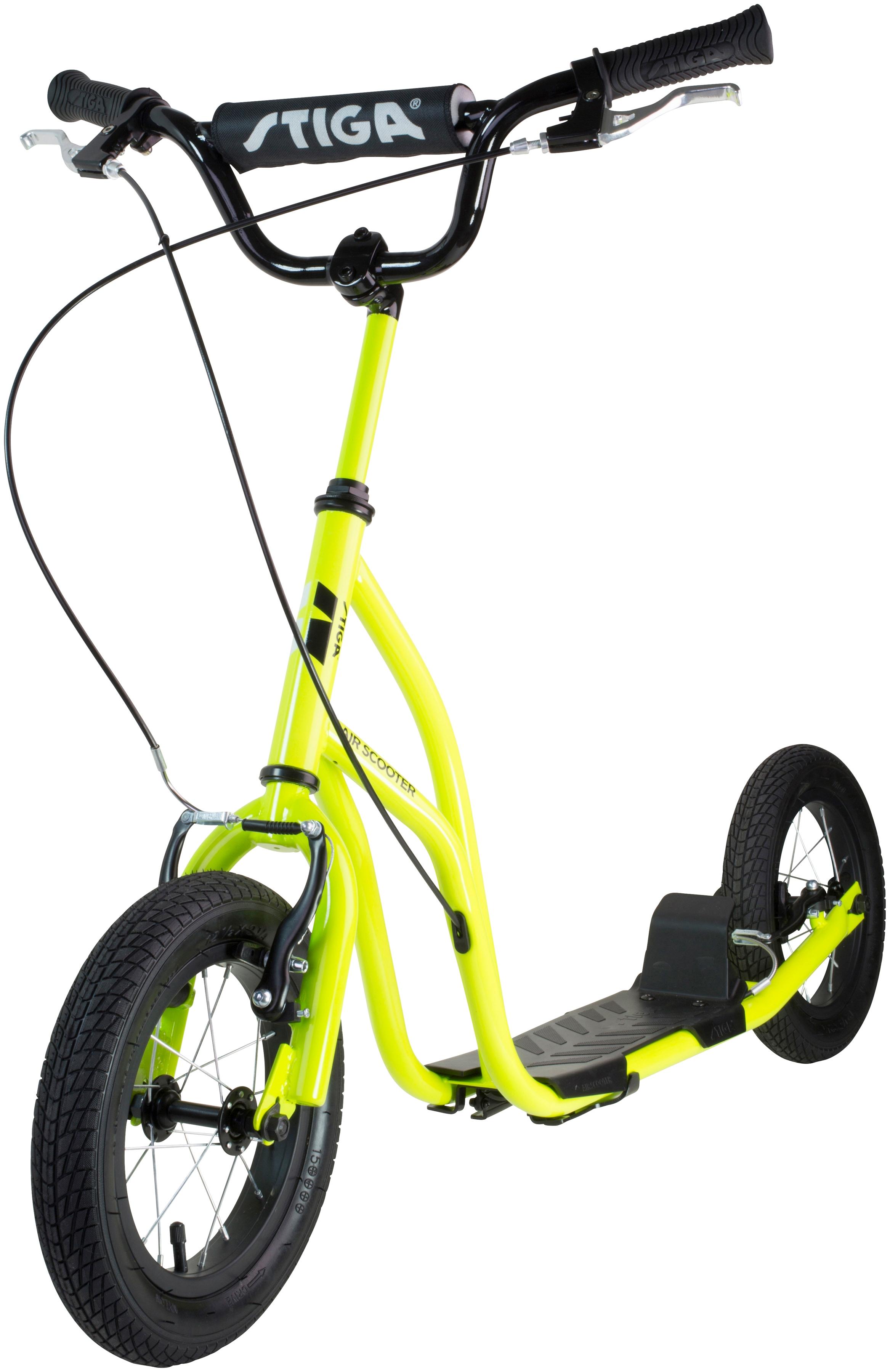 stiga tretroller air scooter f r kinder und erwachsene. Black Bedroom Furniture Sets. Home Design Ideas