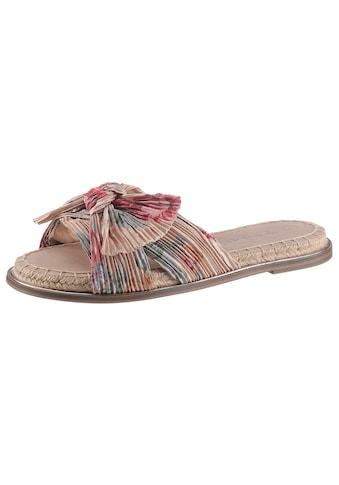 Tamaris Pantolette »PHILINA«, mit modischer Zierschleife kaufen