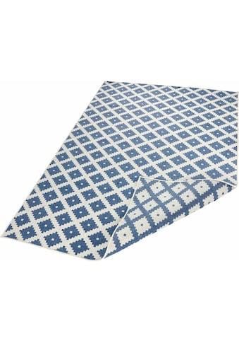 bougari Teppich »Nizza«, rechteckig, 5 mm Höhe, In- und Outdoor geeignet, Wendeteppich, Wohnzimmer kaufen
