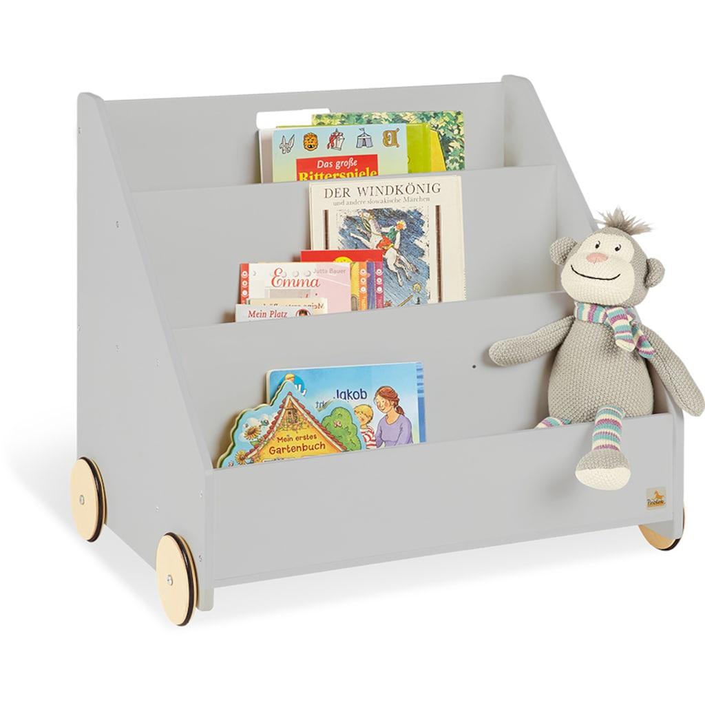 Pinolino® Bücherregal »Lasse«, grau