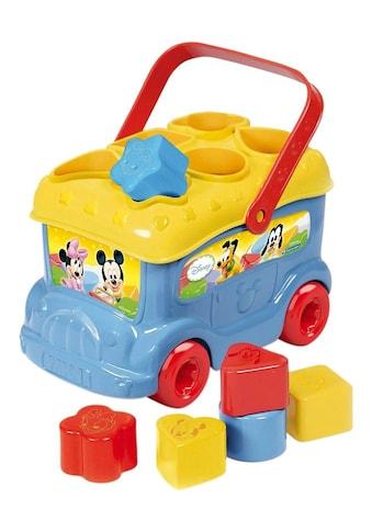 Clementoni® Spielbausteine »Baby Mickey Sortierbus«, Made in Europe kaufen