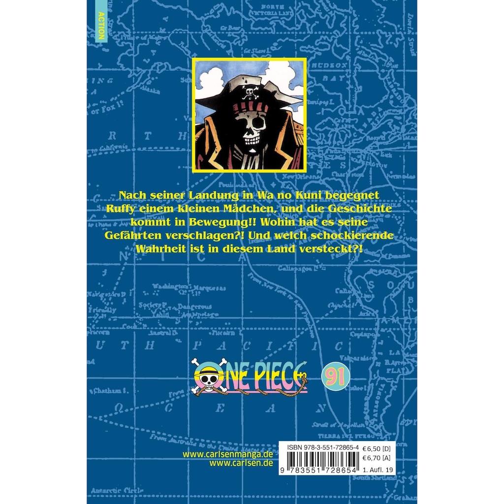 Buch »One Piece 91 / Eiichiro Oda, Antje Bockel«