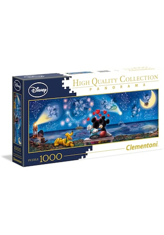 Clementoni® Puzzle »Panorama High Quality Collection - Disney Mickey und Minnie«, Made... kaufen