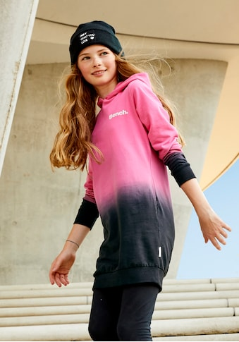 Bench. Sweatkleid, mit modischem Farbverlauf kaufen