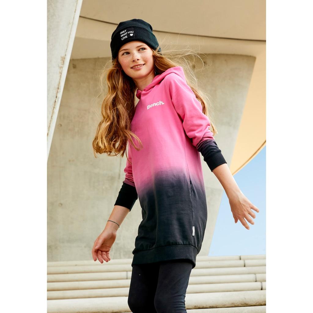 Bench. Sweatkleid, mit modischem Farbverlauf