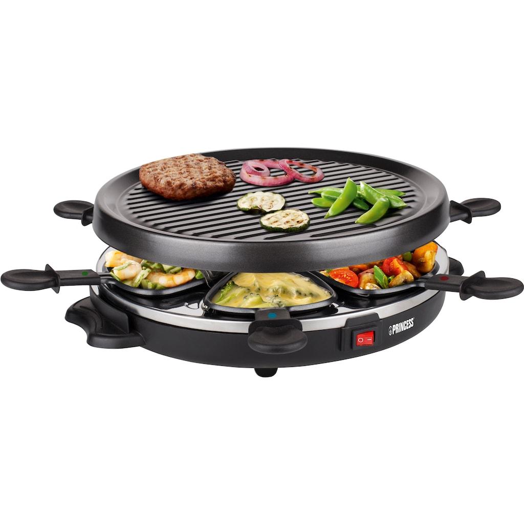 PRINCESS Raclette »6 Grill Party - 162725«, 6 St. Raclettepfännchen, 800 W